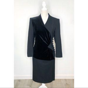 Vintage Adolph Schuman for Lilli Ann Black Suit S